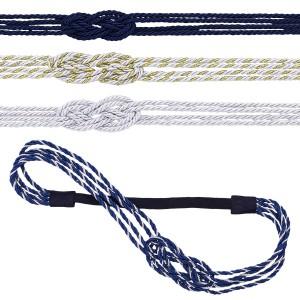 Thin Satin Nautical Knot Headband