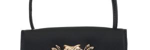 Leather Mini Satchel Owl Bag