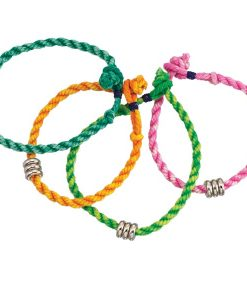 Cotton Rope Anklet - Brights