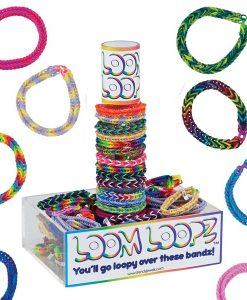 Loom Loopz Rubber Band Fishtail Bracelet
