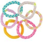 Glow in the Dark Loom Loopz Rubber Band Fishtail Bracelet
