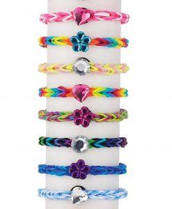 Gem Acrylic Charms for Loom Loopz Bracelet