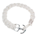 White Anchor Buckle Bracelet