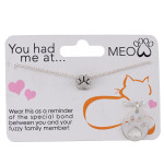 You had me at…. MEOW Necklace Box Program Card