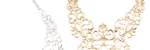 Baroque Filigree Statement Necklace