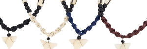 Woven Shark Tooth Necklace