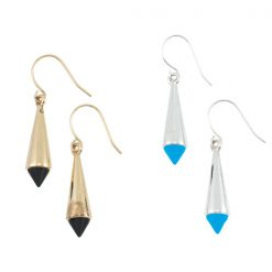 Teardrop Spike Earring