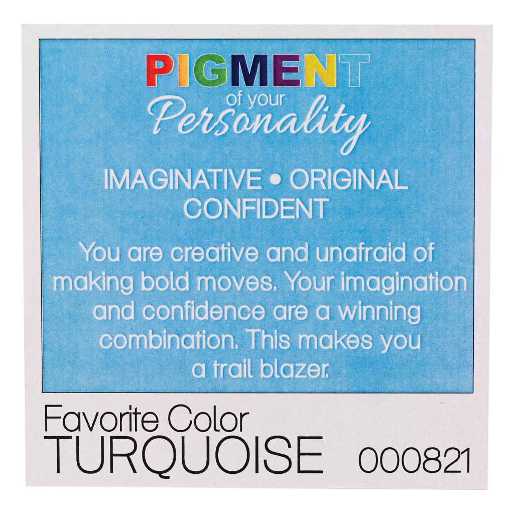 Pigment Of Your Personality Program